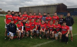 Carlow Senior Football squad who were triumphant against London.