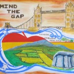 Carlovians celebrate in New York with specially commissioned MIND THE GAP painting