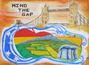 MIND THE GAP - PAINTING