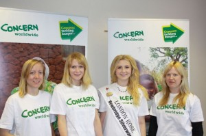 Concern team with Grace