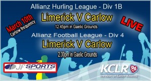Kclr96fm will be broadcasting live from 12.45pm